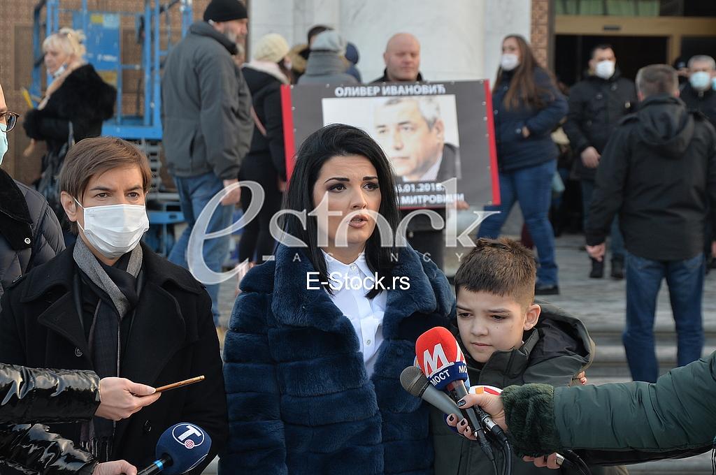 Ana Brnabic, Milena Ivanovic i Bogdan Ivanovic
