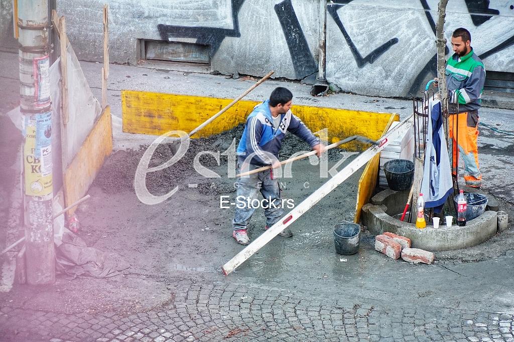 Radnici i beton
