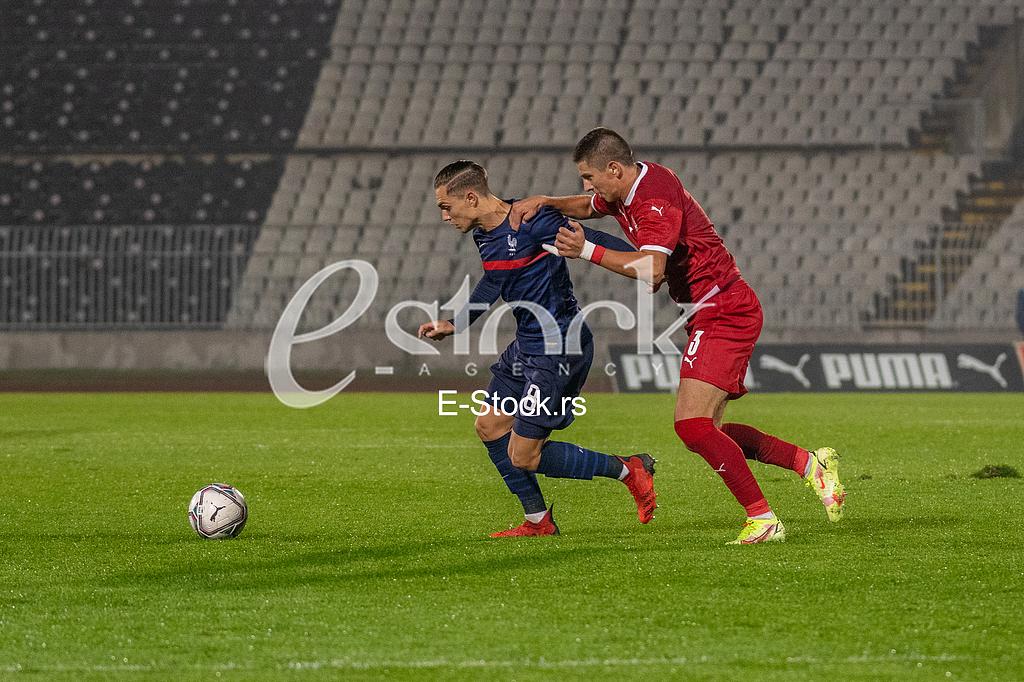 Kvalifikacije za UEFA Euro U-21 2023, Srbija - Francuska