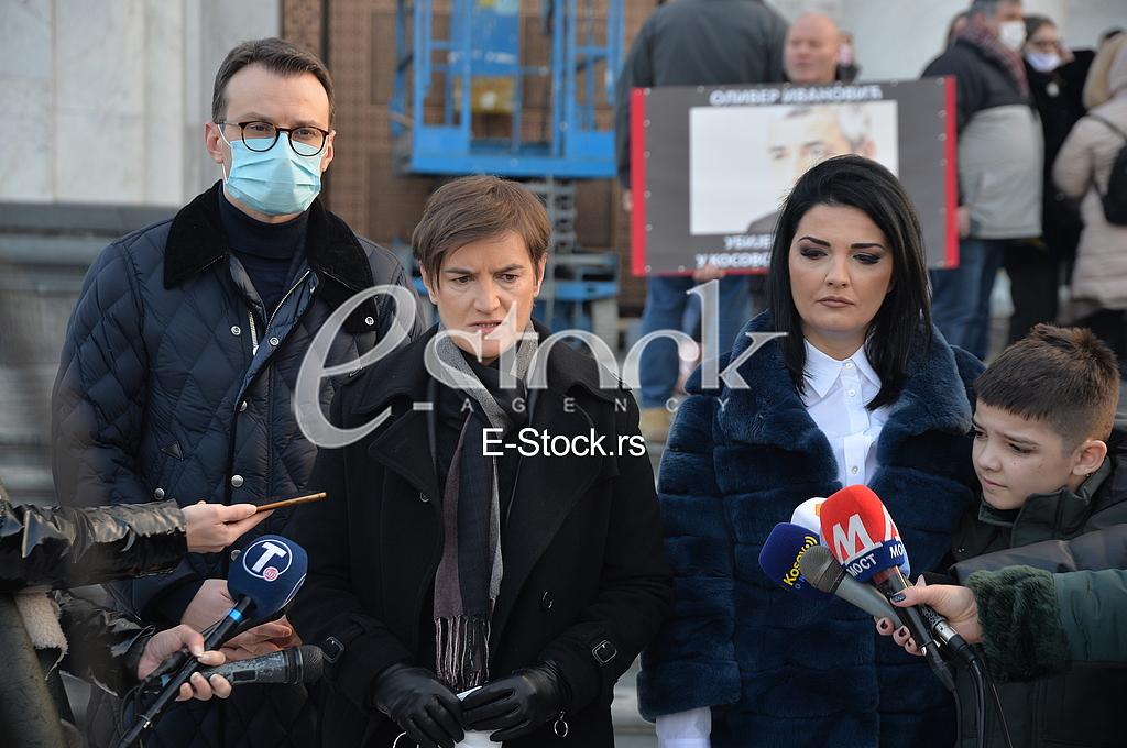 Petar Petkovic, Ana Brnabic, Milena Ivanovic i Bogdan Ivanovic