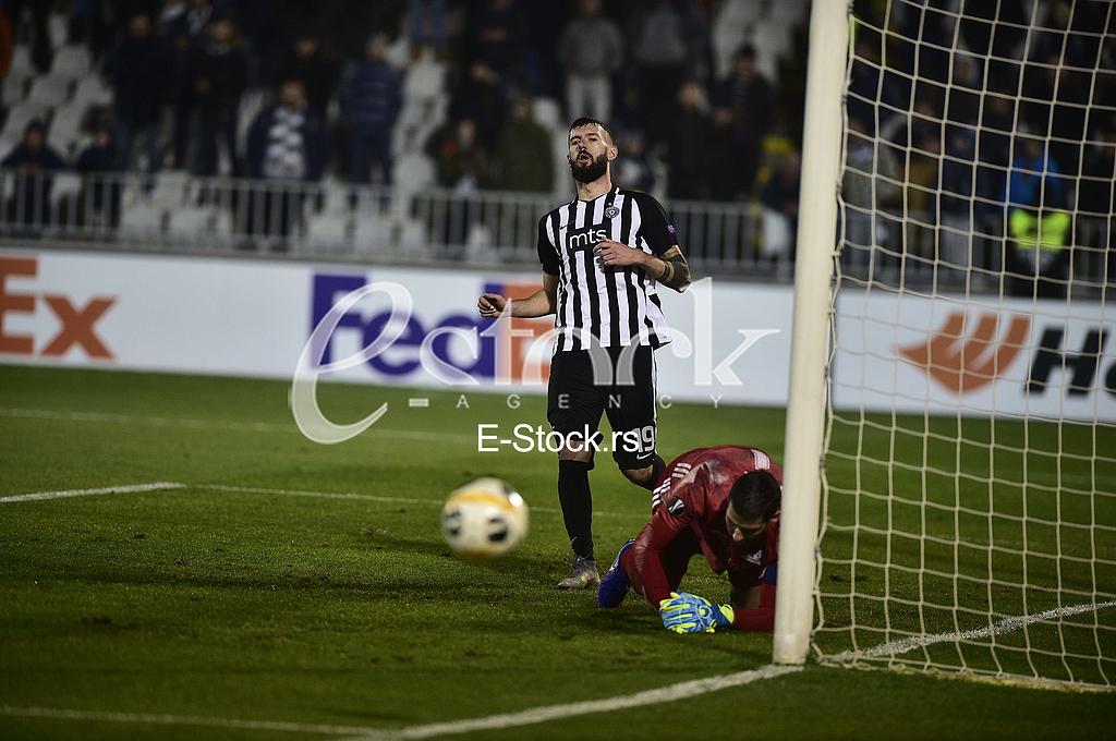 Aleksandar Scekic Partizan vs Astana