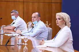 Goran Stevanovic, Zlatibor Loncar i Darija Kisic Tepavcevic