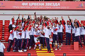 Crvena zvezda - Proslava 32. titule