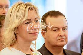 Maria Zakharova and Ivica Dacic