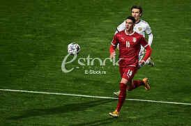 Dusan Vlahovic Srbija vs Rusija