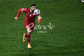 Aleksandar Mitrovic Srbija vs Rusija