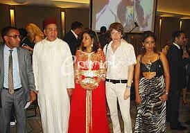Sasa Milivojev,  Mr. Abdellah Zegour - the Ambassador of the Kingdom of Morocco