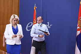 Darija Kisic Tepavcevic i Zlatibor Loncar