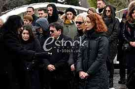 Marko Nikolic Sahrana_Photo e-stock Katarina Mihajlovic