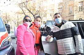 Sladjana Trajkovic, Nina Trajkovic i Milos Trajkovic