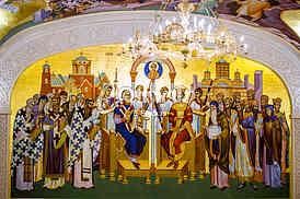 Hram Svetog Save-enterijer