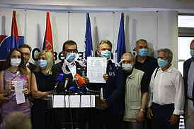 Udruzena opozicija Srbije