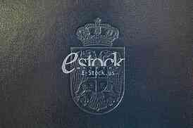 engraved crest Serbia