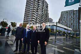 Goran Vesic, Rolan Ris, Bojan Bulatovic