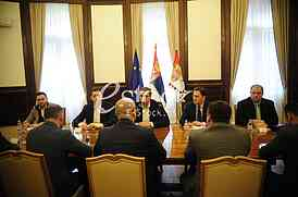 Marko Djuric, Aleksandar Vucic, Nikola Selakovic, Ivica Kojic