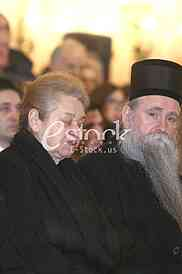 Majka Mirka Butulije i vladika Joanikije